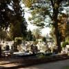 Cmentarz przy Wiślanej z nową instalacją wodociągową