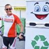 """""""Cycling Recycling – Wisła z prądem"""". Dominik Dobrowolski ze swoją eko-lodówką w Bydgoszczy!"""