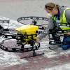 Drony w walce z COVID-19. W wydarzeniu udział wzięli przedstawiciele UTP