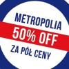 Metropolia za pół ceny 2020. W tym roku potrwa tydzień