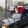 Niecodzienny konwój zaparkował wczoraj przed Wojewódzkim Szpitalem Dziecięcym