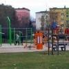 Nowoczesny plac zabaw na  Osiedlu Leśnym