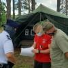 Obóz w Krówce Leśnej pod kontrolą straży i policji