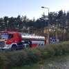 Ogień to nie zabawa! Ostrzeżenie policji po pożarze w Dolinie Śmierci w bydgoskim Fordonie
