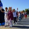 Polfinek przypomniał dzieciom o zasadach bezpieczeństwa