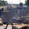 Przebudowa wiaduktu przy Wojska Polskiego trwa