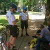 Rowerowy patrol kontroluje bezpieczeństwo bydgoszczan