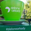 """Setki zdjęć z wielkimi zielonymi figurami w Bydgoszczy. Sukces akcji """"Przed nami coś zielonego"""""""