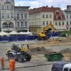 Trwają prace na Starym Rynku. Koszt rewitalizacji wyniesie 14 mln zł