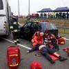 Usuwanie skutków wypadku drogowego. Specjalne ćwiczenia na autostradzie A-1