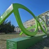 Wielkie zielone figury na ulicach Bydgoszczy. Przed nami coś zielonego!