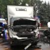 Wypadek z udziałem trzech pojazdów w Osieku. Jedna osoba poszkodowana trafiła do szpitala