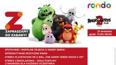 ANGRY BIRDS przybywają! Spotkanie w CH Rondo