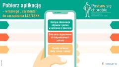 Aplikacja na telefon dla pacjentów z ZZSK i ŁZS, która ma być asystentem w zarządzaniu chorobą