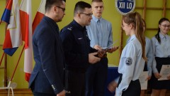 Awanse uczniowskie dla młodzieży z bydgoskich klas mundurowych
