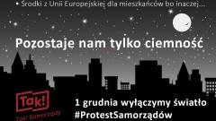 Bydgoszcz włącza się w ogólnopolski protest samorządów. Wygaszony zostanie pylon Mostu Uniwersyteckiego
