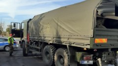 Ciężarówki i busy pod kontrolą
