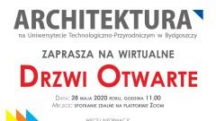Drzwi Otwarte Online na Architekturze UTP