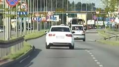 Jechał z prędkością 129 km/h. Został zatrzymany [WIDEO]