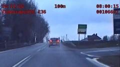 Jechał z prędkością 130 km/h w obszarze zabudowanym. Został zatrzymany [WIDEO]