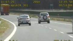 Jechał z prędkością 224 km/h. Został namierzony