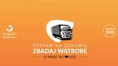 """Już jutro i w czwartek """"Zbadaj wątrobę"""". Ogólnopolska akcja bezpłatnych badań w Toruniu i Bydgoszczy!"""