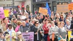 Kolejna akcja przeciwko przemocy wobec kobiet w Bydgoszczy