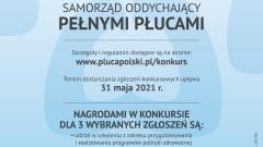 Konkurs dla samorządów dbających o płuca swoich mieszkańców. Nagrodą m.in. możliwość wzięcia udziału w ciekawym szkoleniu