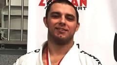 Mistrzostwa Polski w Brazylijskim Jiu Jitsu. Srebrny medal dla Artura Pujszo