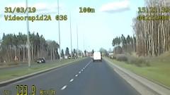 Pędził 133 km/h na obwodnicy miasta [WIDEO]