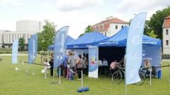 Ponad 300 bydgoszczan odwiedziło Niebieskie Miasteczko