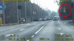 Przekroczył prędkość o 88 km/h. Został zatrzymany [WIDEO]