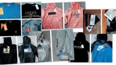 Sprzedawali podrobioną odzież oraz maseczki ochronne. Zostali zatrzymani