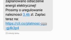 Uwaga na oszustów, którzy wysyłają sms-y i próbują wyłudzić pieniądze. Kolejny przypadek w regionie