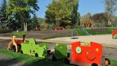 W Myślęcinku powstał nowy integracyjny plac zabaw