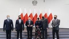 Wręczenie odznaczeń państwowych w Kujawsko-Pomorskim Urzędzie Wojewódzkim