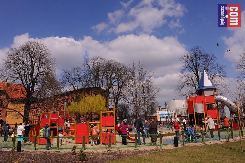 200 tys. zł na doposażenie placu zabaw na Wyspie Młyńskiej