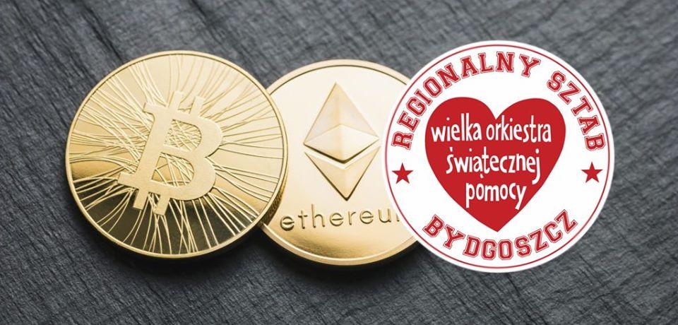 Podaruj Bitcoina na WOŚP! Zbiórka już wystartowała i potrwa do 17 stycznia