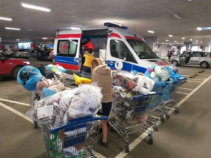 500 pluszaków dla dzieci z Bydgoszczy i Poznania