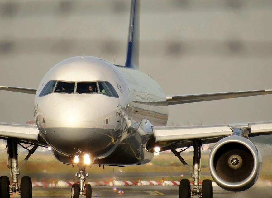 Airbus 320  na trasie Bydgoszcz-Frankfurt