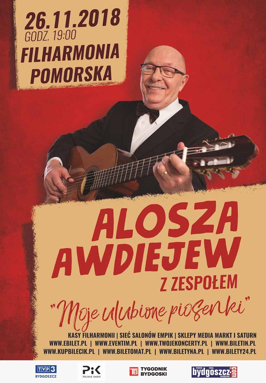 Alosza Awdiejew z zespołem zagra w Bydgoszczy. KONKURS