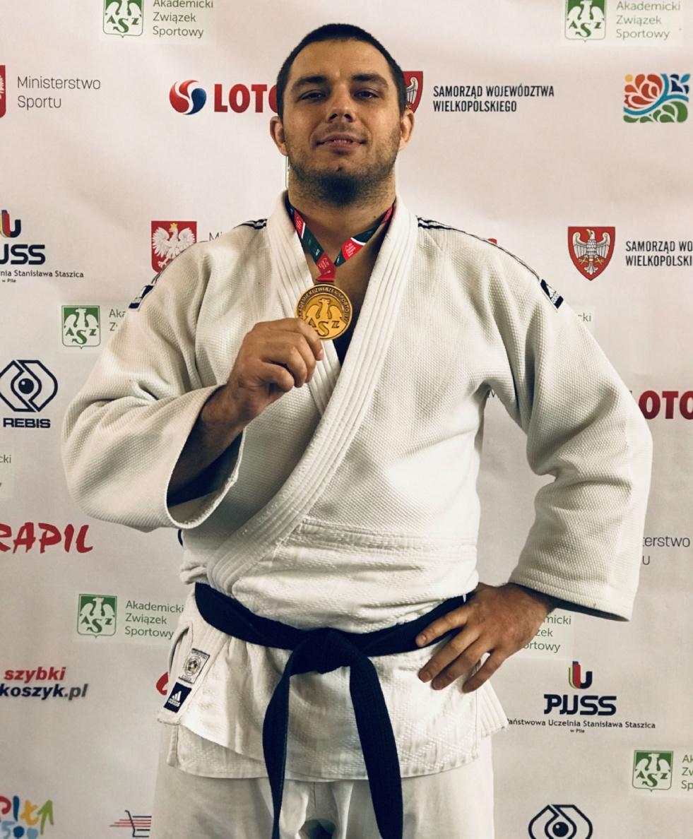 Artur Pujszo uratował honor bydgoskich Judoków