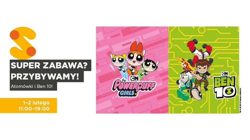 Atomówki i Ben 10 z Cartoon Network, czyli kreskówkowi goście w CH RONDO