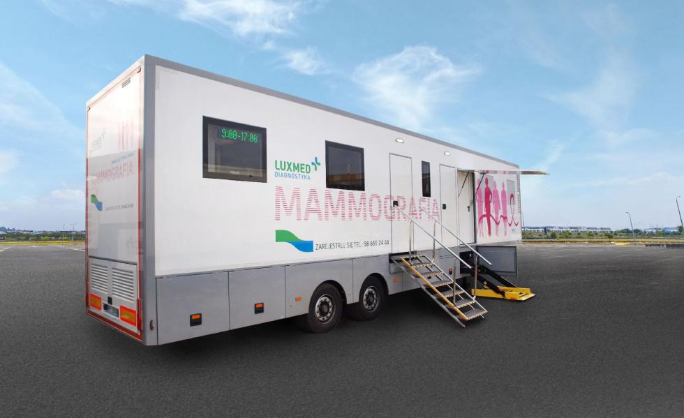 Bezpłatna mammografia już w marcu w Bydgoszczy