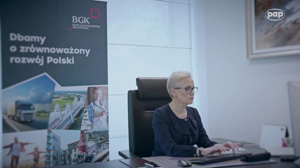 BGK udzielił wsparcia polskim przedsiębiorcom 100 tysięcy razy w trakcie…