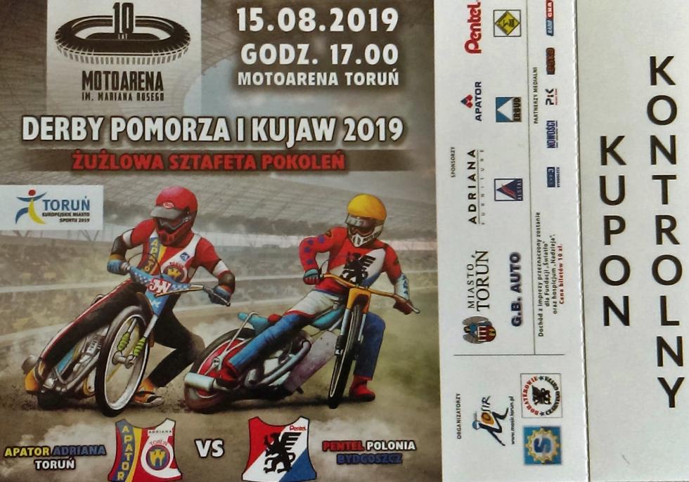 Bilety na Derby Pomorza i Kujaw dostępne również w Bydgoszczy