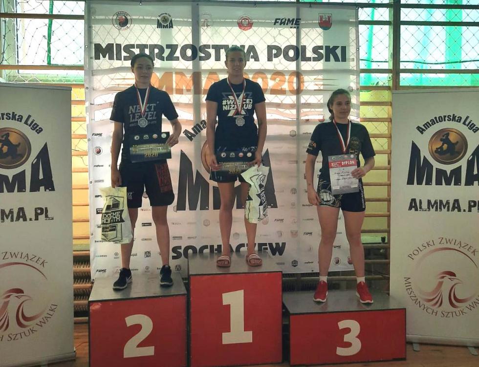 Bydgoscy Wojownicy z medalami Mistrzostw Polski MMA