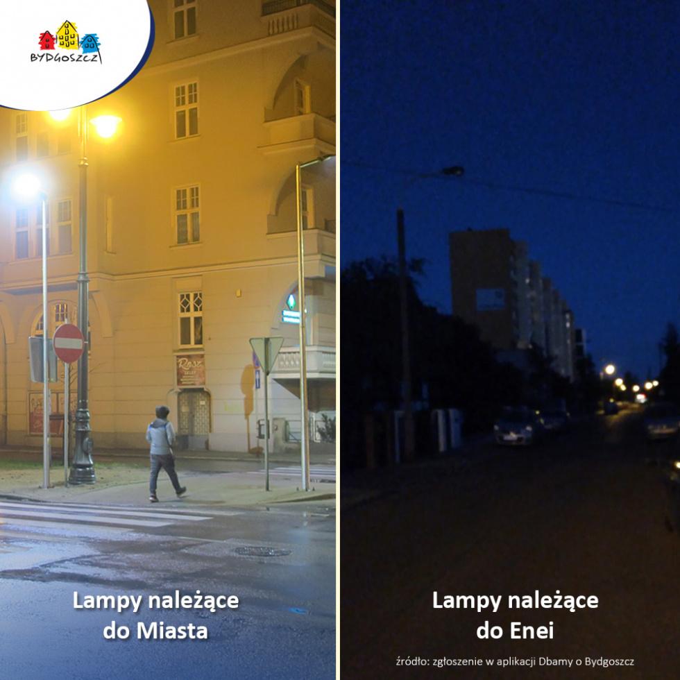 Bydgoskie ulice będą lepiej oświetlone. Rozstrzygnięto przetarg