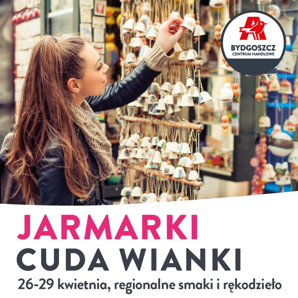 Cuda wianki na Jarmarku Wiosennym w CH Auchan