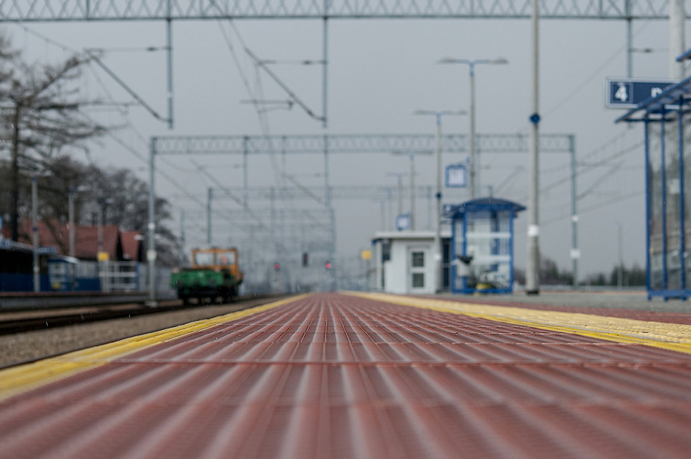 Dostępniejsze podróże z nowych peronów między Inowrocławiem, a Jabłonowem Pomorskim